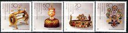 BRD - Mi 1383 / 1386 ✶✶ # - Gold- Und Silberschmiedekunst, Wohlfahrt 88 - Unused Stamps