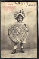 368 .  LES ROIS . POEME DE A. GABORIAUD .    (recto/verso)  EPIPHANIE . BERGERET - Fancy Cards