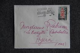 Lettre D'ALGERIE ( ALGER ) - N°1238. - Storia Postale
