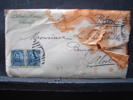 LetDoc. 118. Lettre Expédiée De New York Vers Alost En Belgique En 1905 Au Bourgmestre Gheeraerdts. Parle D'huillerie. - Etats-Unis