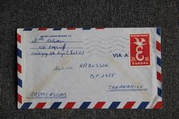 Lettre De FRANCE ( BRETIGNY SUR ORGE) Vers MADAGASCAR - N° 1173 - Madagaskar (1889-1960)