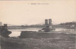 Cp , 42 , FEURS , Pont Sur La Loire - Feurs