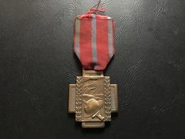 Croix De Feu 1914-1918 (medaille Belgique) - 1914-18