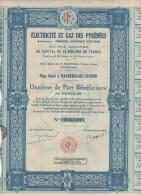 31-ELECTRICITE ET GAZ DES PYRENEES. LUCHONNAISE D'ECLAIRAGE. BAGNERES De LUCHON - Altri