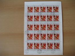 Ungarn 1979, 2 Bögen Int. Jahr Des Kindes, Mi. Nr. 3397A, 3398A Gestempelt - Feuilles Complètes Et Multiples