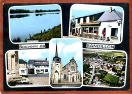 45     CPSM De SANDILLON  Souvenir De...     Multivues   1971   Très Bon état - Other Municipalities