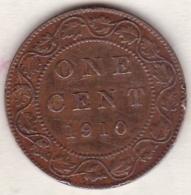 Canada . 1 Cent 1910  . Edward VI . Cuivre - Canada