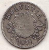 Suisse. 10 Rappen 1851 BB. - Suisse