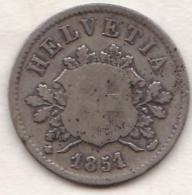 Suisse. 10 Rappen 1851 BB. - Schweiz