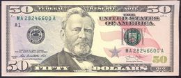 USA 50 Dollars 2013 A UNC # P- 542 A - Boston MA - Federal Reserve Notes (1928-...)
