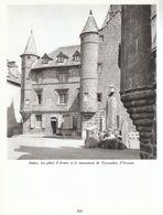 1966 - Héliogravure - Salers (Cantal) - La Place D'Armes - FRANCO DE PORT - Vieux Papiers