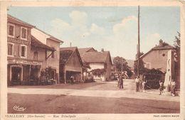 "¤¤   -   VALLEIRY    -  Rue Principal  -  Hôtel "" CURIOZ ""    -  ¤¤ - Autres Communes"