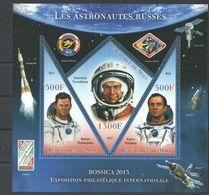 V682 PRIVATE ISSUE 2013 REPUBLIQUE DU MALI SPACE LES ASTRONAUTES RISSES ROSSIACA 2013 1KB MNH - Raumfahrt