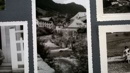 HAUTE - SAVOIE CHAMONIX MONT - BLANC ALPES SUISSE MONTAGNES UN ALBUM - PHOTO VOYAGE 50 PHOTOS ORIGINALES  + 121 C - Albums & Collections