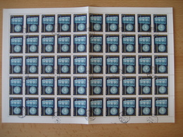 Ungarn 1978, 100 Jahre Glasfabrik In Ajka, Mi. Nr. 3283A  Gestempelt - Feuilles Complètes Et Multiples