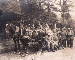 Photo 14-18 Une Cuisine Roulante Allemande (A187, Ww1, Wk 1) - Guerre 1914-18