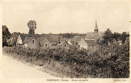 - FONTENOY (89) -  Route De Levis   -16650- - Francia