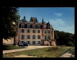 37 - LA ROCHE-PLOQUIN - Chateau - 2CV - France