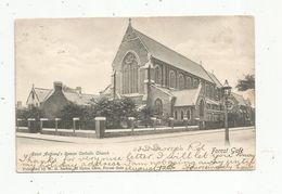 Cp,  Angleterre , FOREST GATE,  Saint Antony's Roman Catholic Church , Voyagée 1905, Voir Oblitération, 2 Scans - England