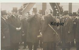 AK Duisburg, Präsident V. Hindenburg Auf Der Rheinbrücke 1925 - Duisburg