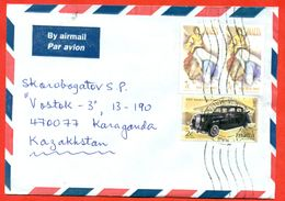 Malta 2004. Envelope Passed The Mail. Auto. - Malta
