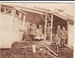 Photo 14-18 VIGNEULLES-LES-HATTONCHATEL - Hopital Militaire Allemand Détruit, Section Sanitaire (A187, Ww1, Wk 1) - Vigneulles Les Hattonchatel