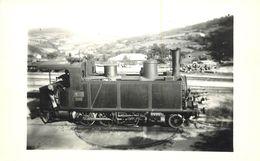 LOCOMOTIVE N° 05 Cachet J.Monternier( Photo Format Carte Ancienne) - Trains