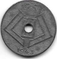 Belguim 10 Centimes 1943 Dutch   Vf+ - 02. 10 Centimes
