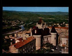 07 - AUBENAS - Chateau - Vue Aérienne - Aubenas