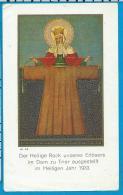 Holycard   Der Heilige Rock   Trier - Images Religieuses
