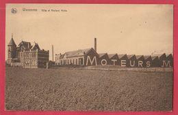 Waremme - Villa Et Ateliers Moës - 1923  ( Voir Verso ) - Waremme