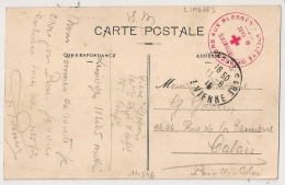LIMOGES Haute Vienne. INFIRMERIE DE GARE. S.S.B.M. - Guerra Del 1914-18