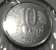 @Y@  Brazilie  10 Centavos    1994  (3507) - Brésil