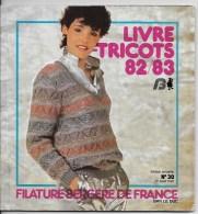 Livre Tricots 82/83 Et Son Supplément - Habits & Linge D'époque
