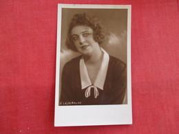 RPPC   Female      O Lejaskalns   Ref 2820 - Postcards