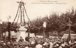 LESTELLE - INAUGURATION DU MONUMENT AUX MORTS - Lestelle-Bétharram