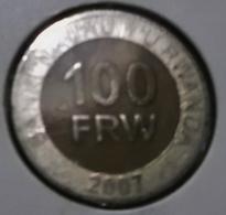 @Y@    Rwanda   100 Frw  2007     (3219) - Rwanda