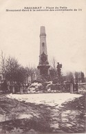 BACCARAT. - Place Du Patis. Monument élevé à La Mémoire Des Combattants De 70 - Baccarat