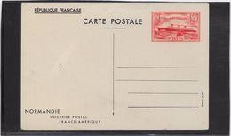 France Entiers Postaux Commémoratifs - Paquebot Normandie - Entiers Postaux