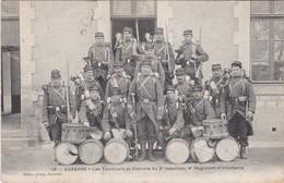 AUXERRE - Les Tambours Et Clairons Du 3è Bataillon, 4è Régiment D'Infanterie - Peu Fréquent - Auxerre