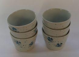 6 Japanese Broth Cups - Ceramics & Pottery