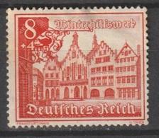 Deutsches Reich / Winterhilfswerk: Bauwerke /  MiNr.: 734 - Deutschland