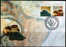Kazakhstan 2005 FDC Minerals Mineral Mineraux - Minerali