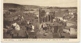 88..EPINAL VUE GENERALE DEPUIS LE CHATEAU ET L EGLISE  SAINT MAURICE - Etival Clairefontaine