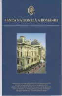 Romania,Rumanien,Roumanie - BNR - Presentation Flyer Of The Institution - History Of National Bank Of Romania - 6 Pages - Livres & Logiciels