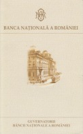 Romania,Rumanien,Roumanie - BNR - Presentation Flyer Of The Institution - The Guvernors - 6 Pages 240/152 Mm - Livres & Logiciels