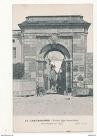 11 CARCASSONNE PORTE DES JACOBINS RECONSTRUITE EN 1778 CPA BON ETAT - Carcassonne