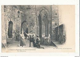 11 CARCASSONNE CITE L AMOUR AU MOYEN AGE LA DECLARATION CPA BON ETAT - Carcassonne