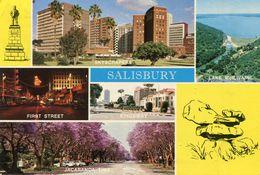 Zimbabwe - Salisbury - Multi View - Zimbabwe