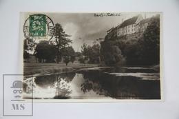 Old Real Photo Postcard Estonia/ Esti - Tallinn, Schnell's Pond. - Estonia
